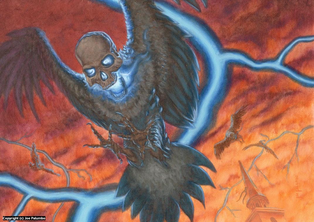 Death Birds Artwork by Joe Palumbo