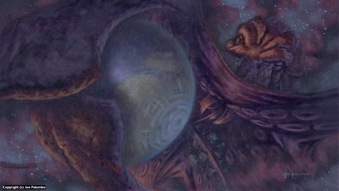 Ancient Encounter Artwork by Joe Palumbo