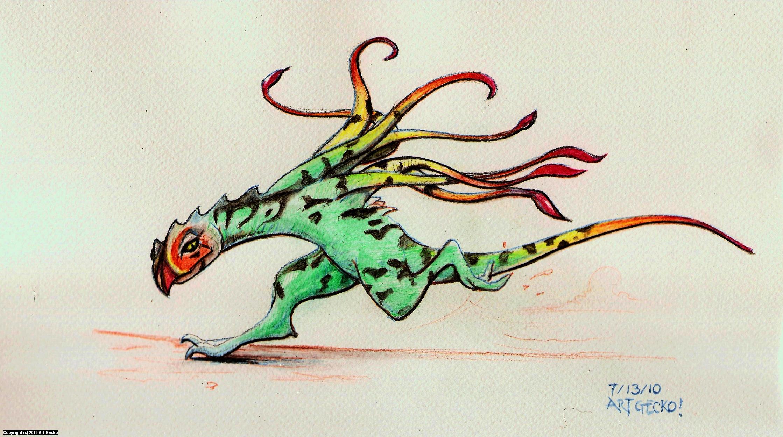 Fanciful Groter Artwork by Richard (Art Gecko) Wawiernia