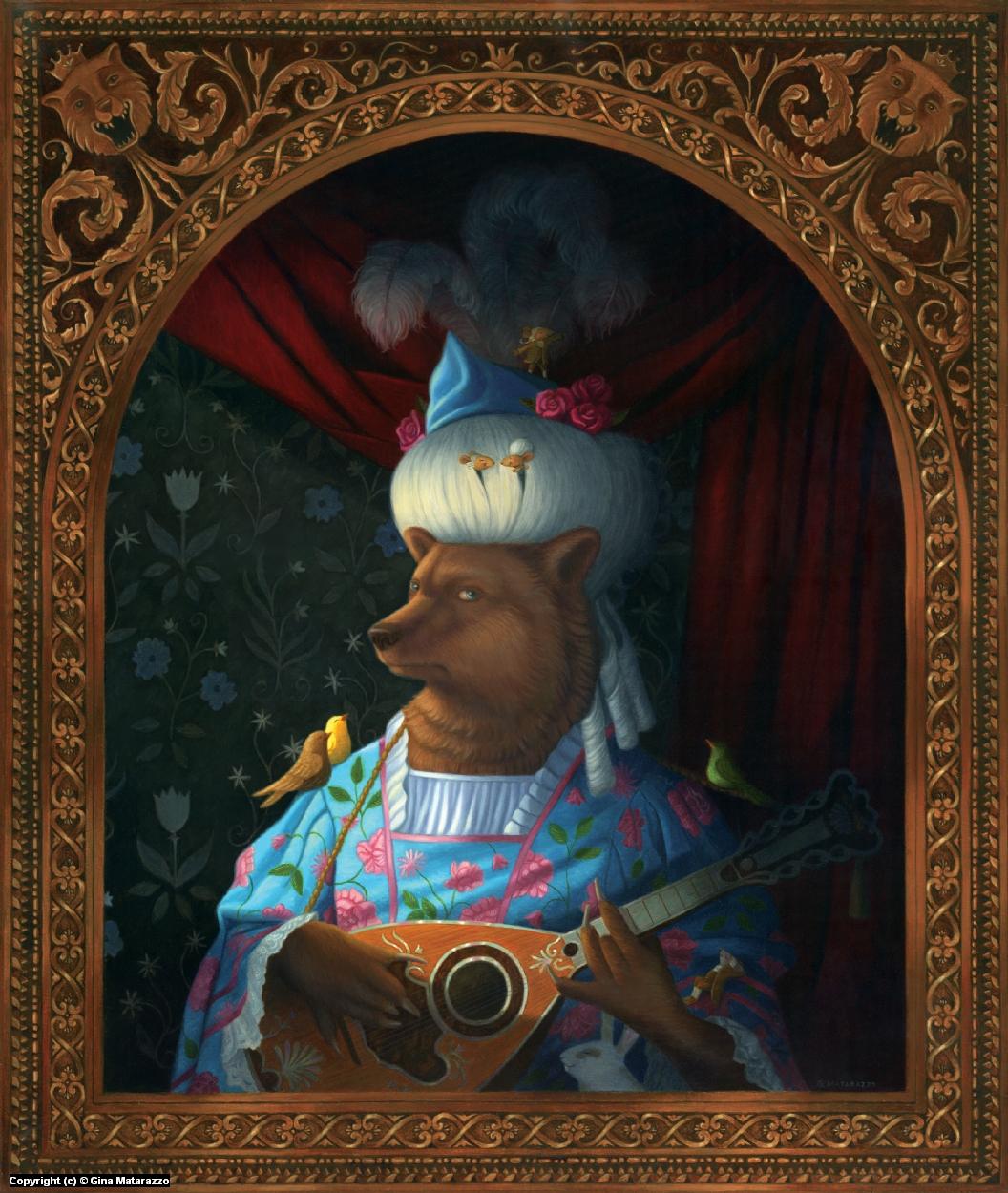Lady Isabella of Seville Artwork by Gina Matarazzo