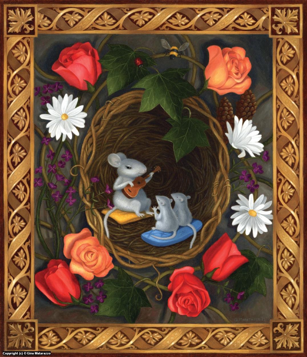 The Nest Artwork by Gina Matarazzo