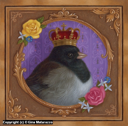 King Birdy Artwork by Gina Matarazzo