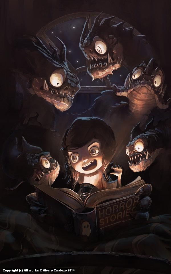 Fairy tales? haha, please... Artwork by Alvaro Cardozo