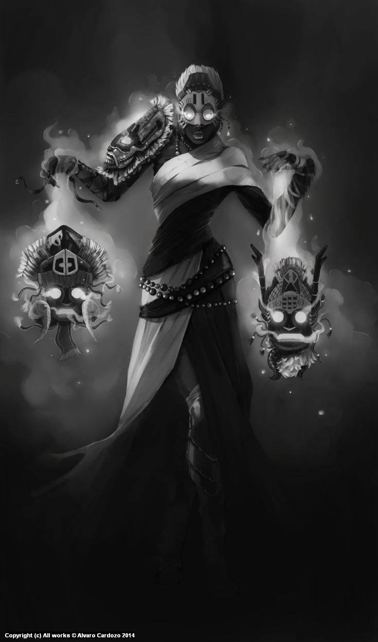 Trident. Code name: The haunted Artwork by Alvaro Cardozo