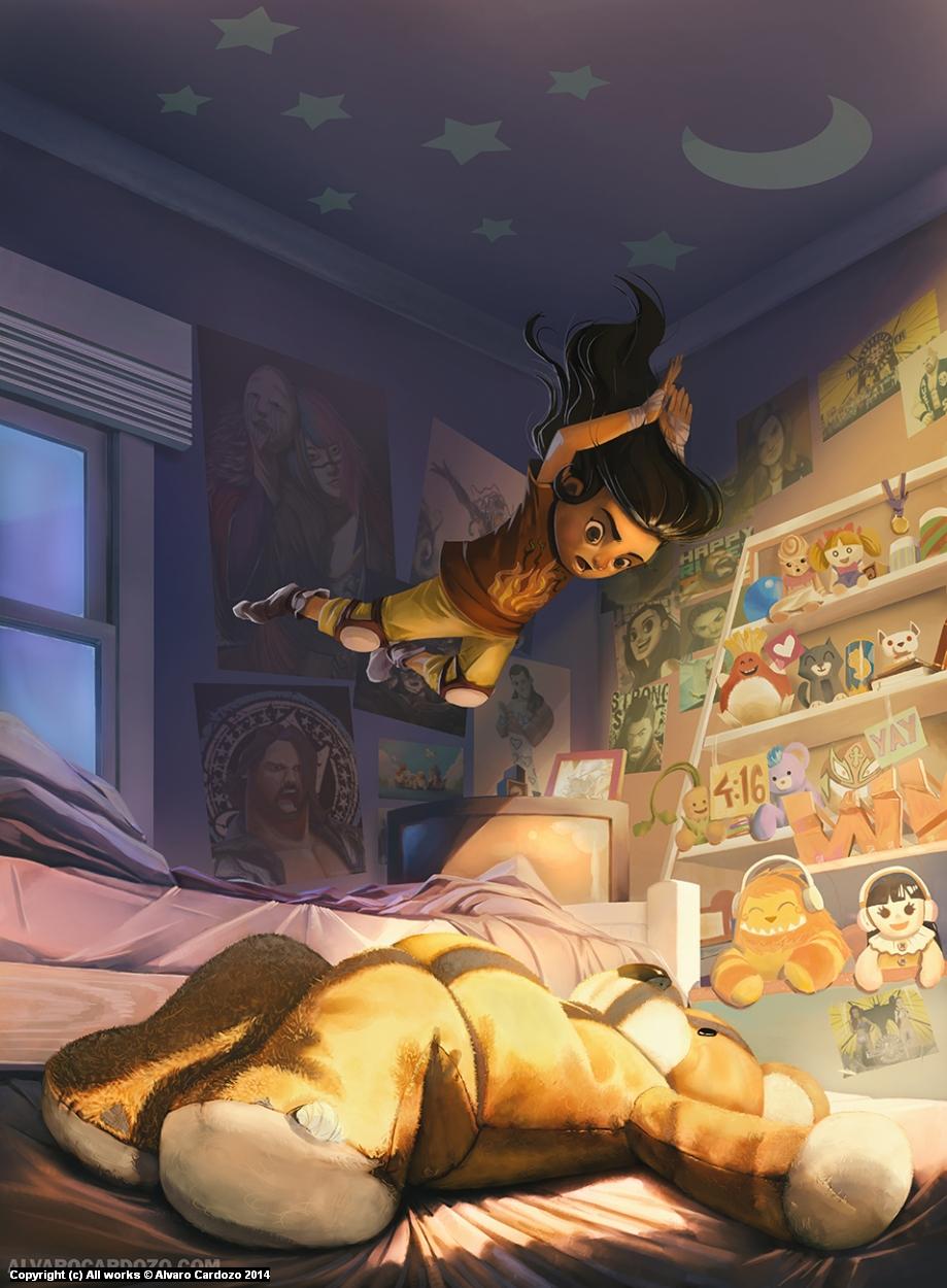 That Dream of Wrestling  Artwork by Alvaro Cardozo