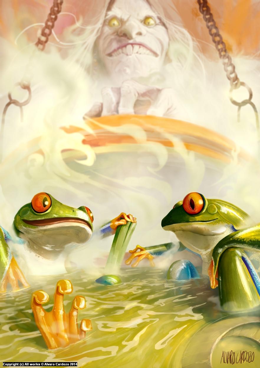 I love this thermal bath  Artwork by Alvaro Cardozo