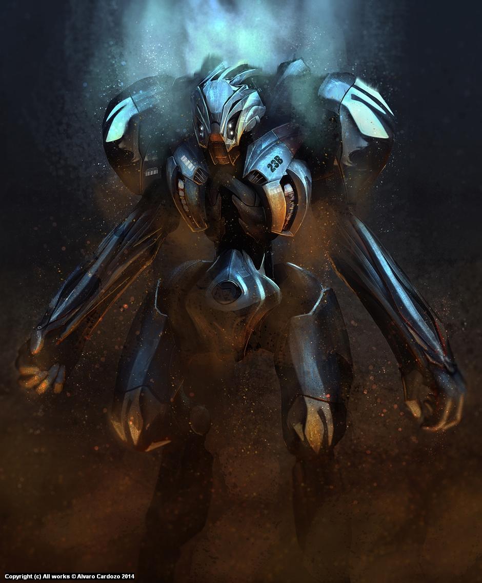 Robot Artwork by Alvaro Cardozo
