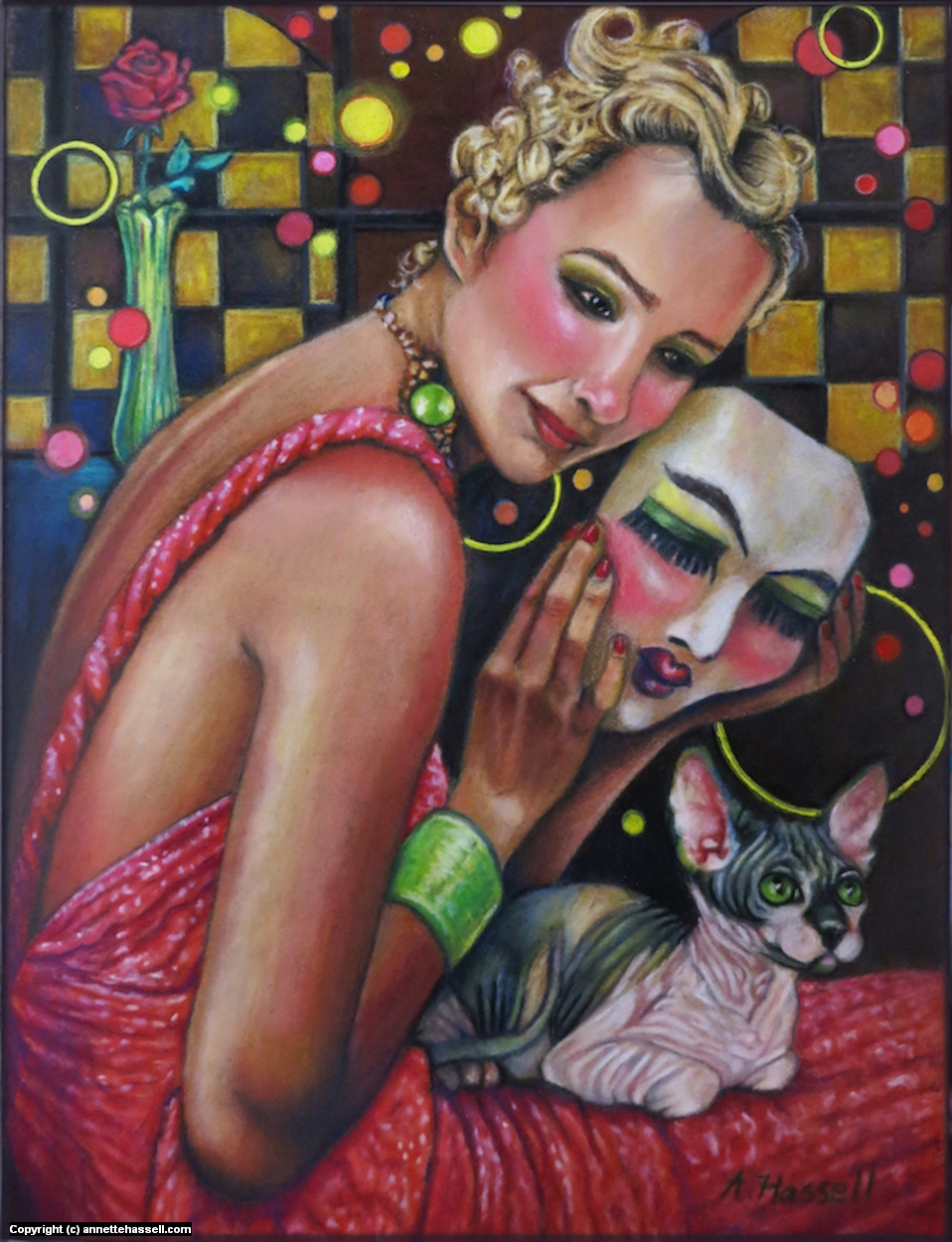 Imposter Artwork by Annette Hassell
