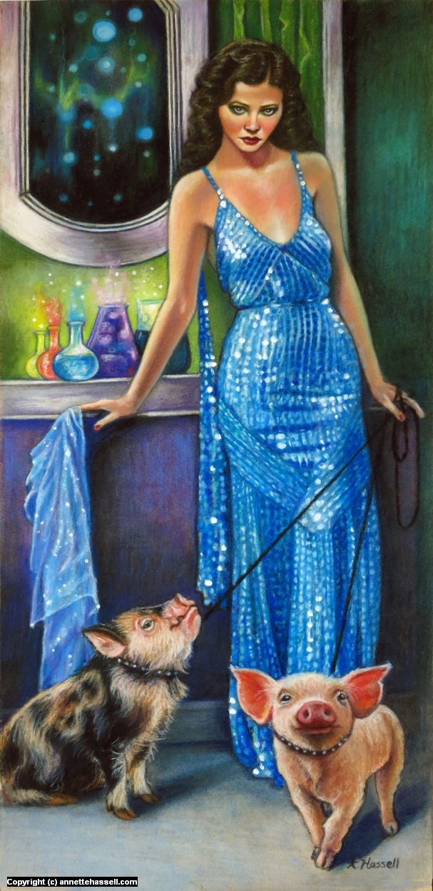 Circe Artwork by Annette Hassell