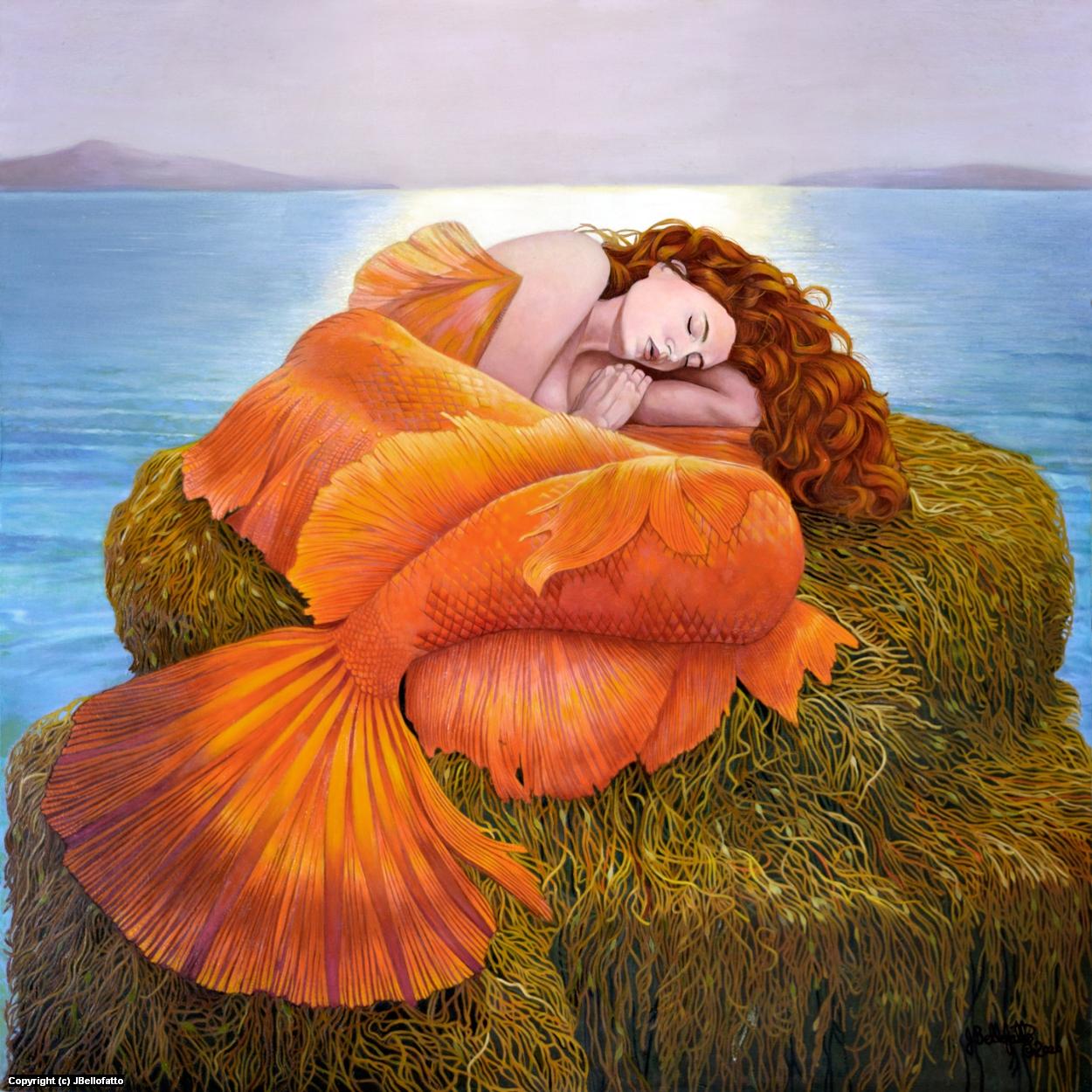 Siren's Slumber Artwork by Joseph Bellofatto