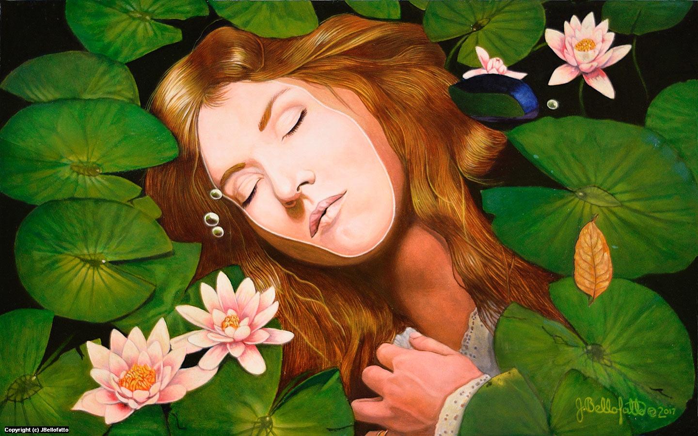 The Death of Ophelia Artwork by Joseph Bellofatto