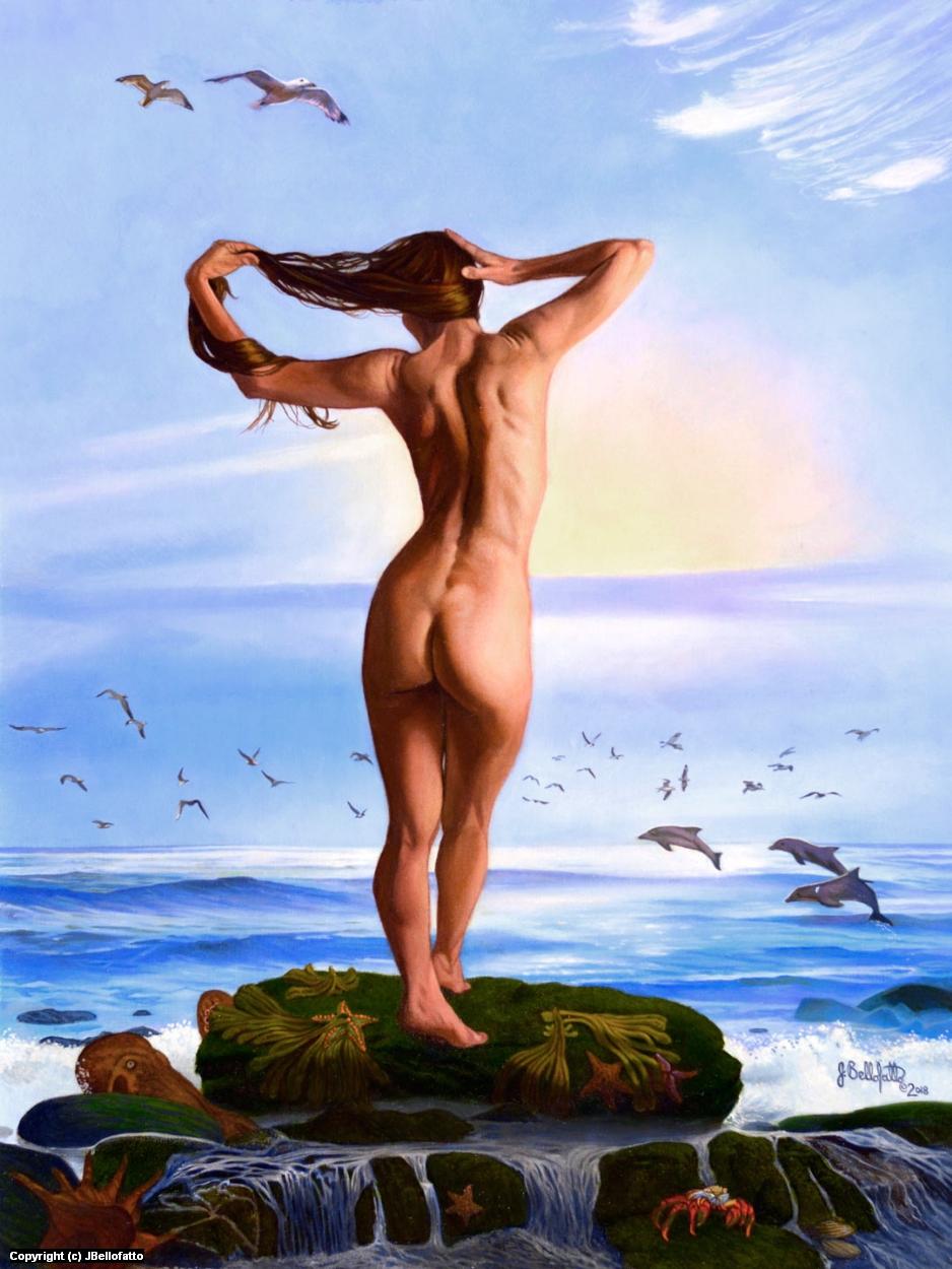 Venus Arisen Artwork by Joseph Bellofatto