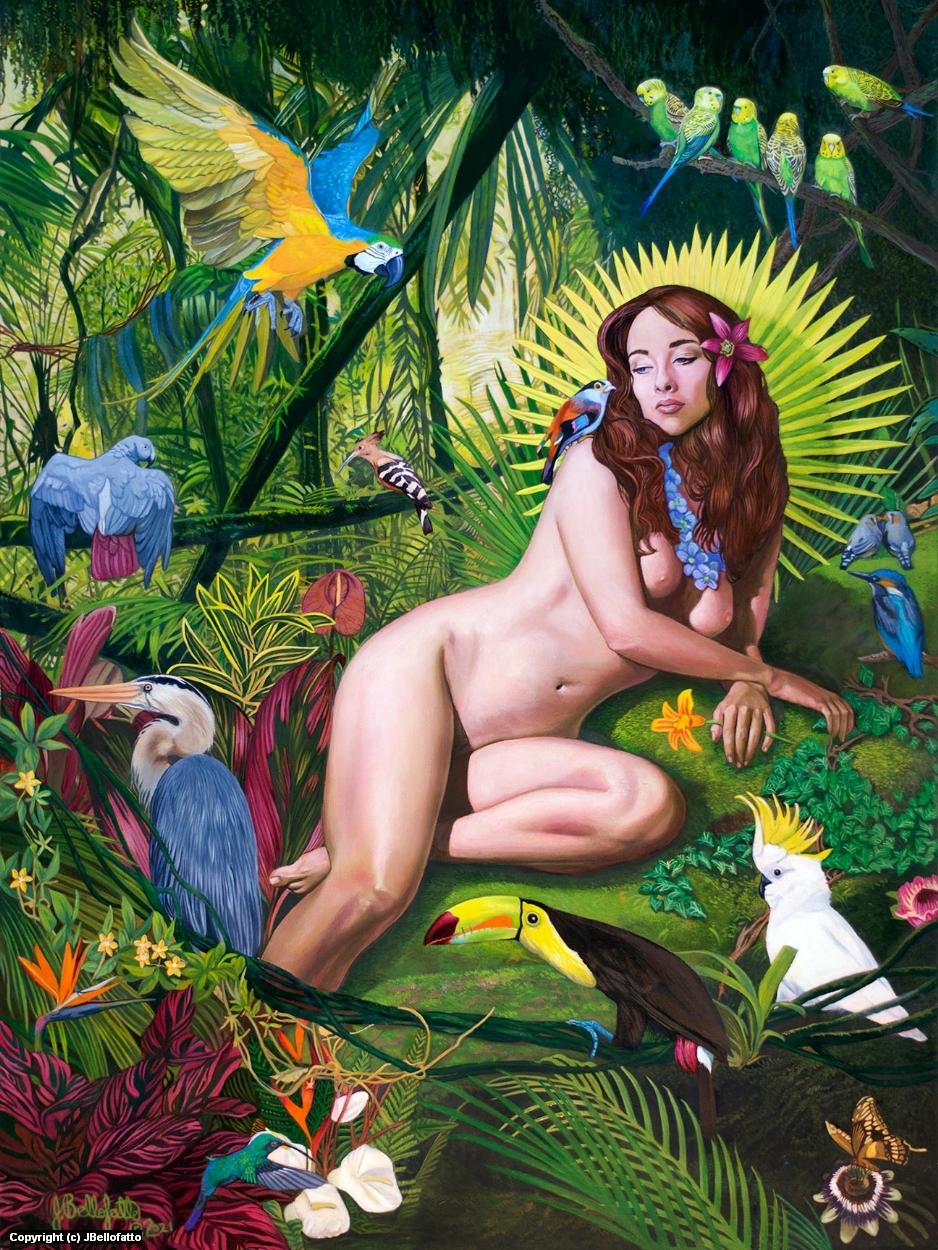 The Garden of Earthly Delights Artwork by Joseph Bellofatto