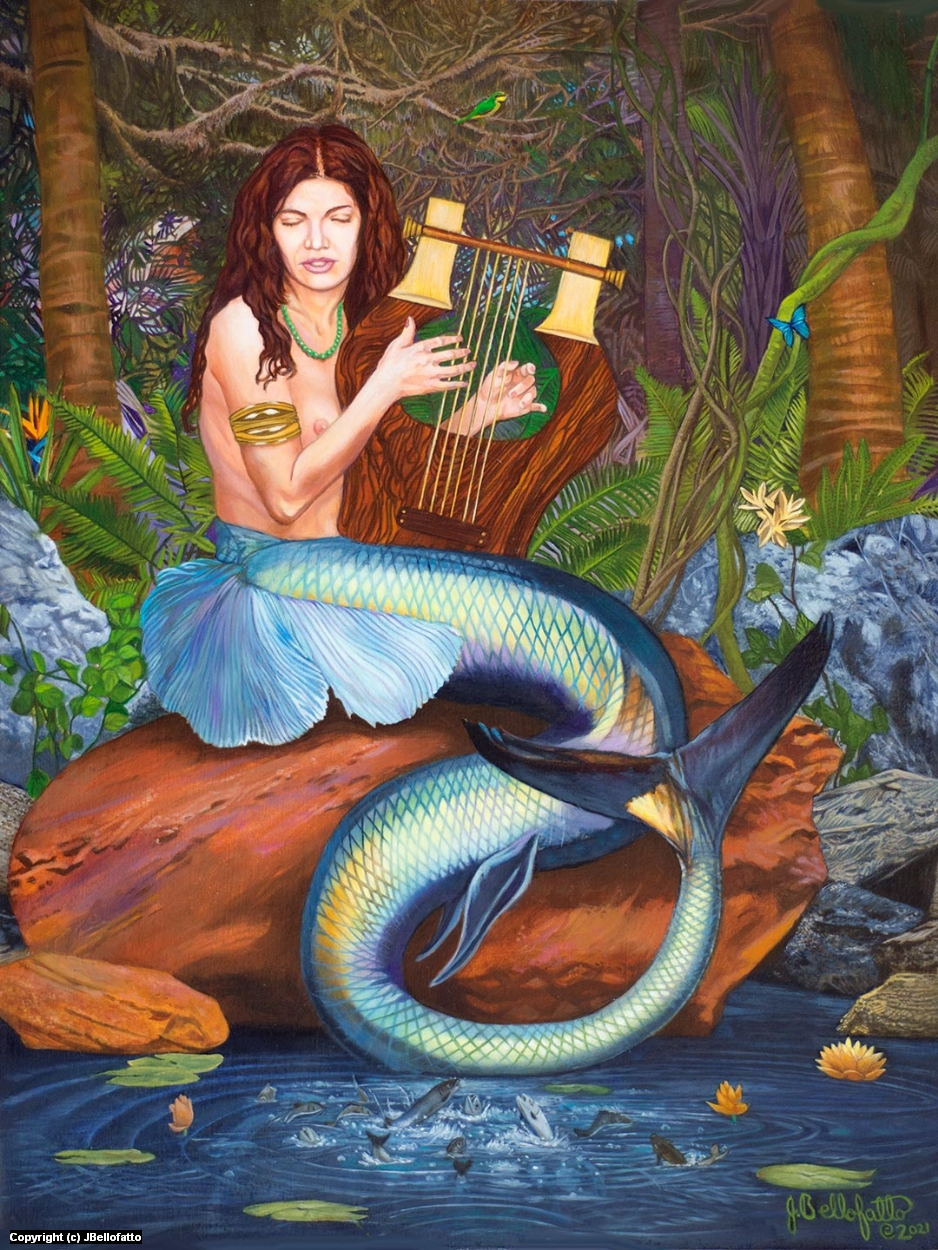 The Enchantress Artwork by Joseph Bellofatto