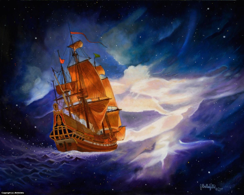 The Sea of Infinity Artwork by Joseph Bellofatto