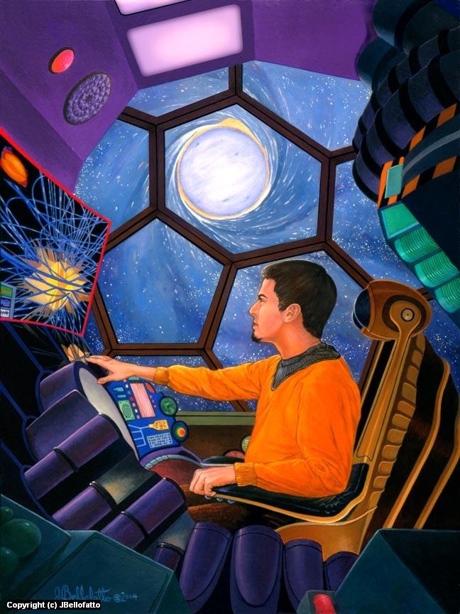 Neutron Star Artwork by Joseph Bellofatto
