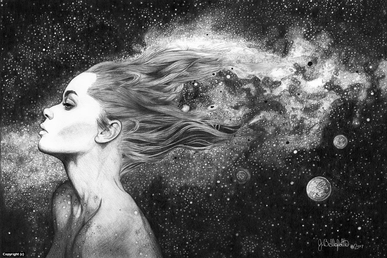 Mother Universe Artwork by Joseph Bellofatto
