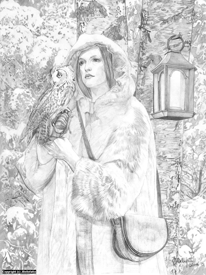 The Snow Queen Artwork by Joseph Bellofatto