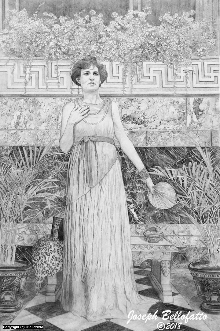 Her Gift Artwork by Joseph Bellofatto