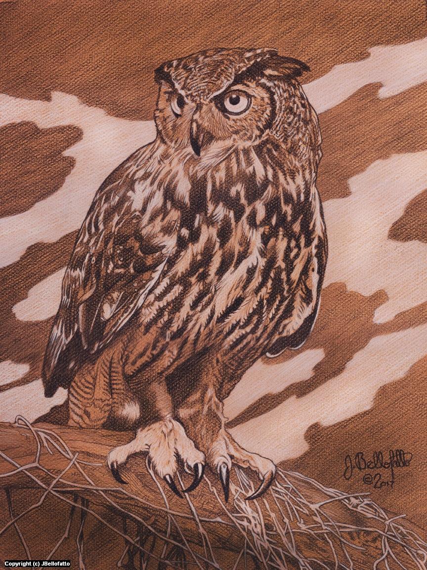 The Watcher Artwork by Joseph Bellofatto