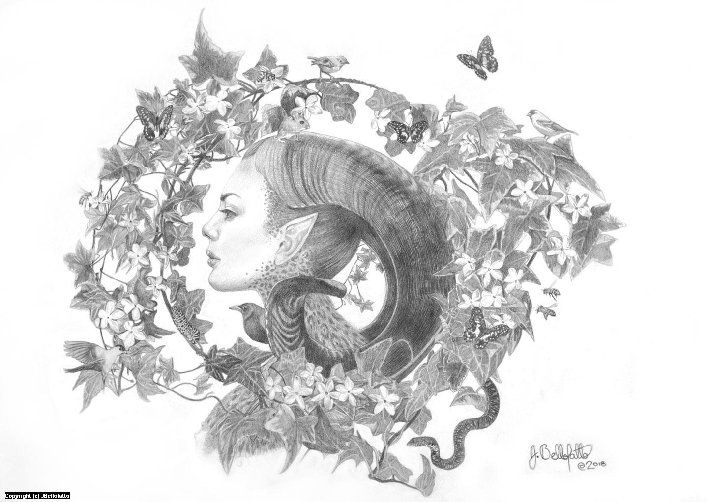 Maleficent Artwork by Joseph Bellofatto
