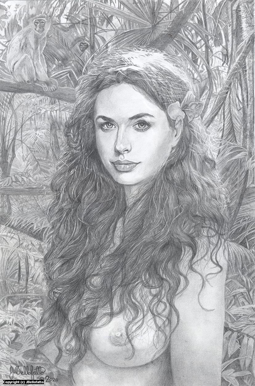 Me Jane Artwork by Joseph Bellofatto