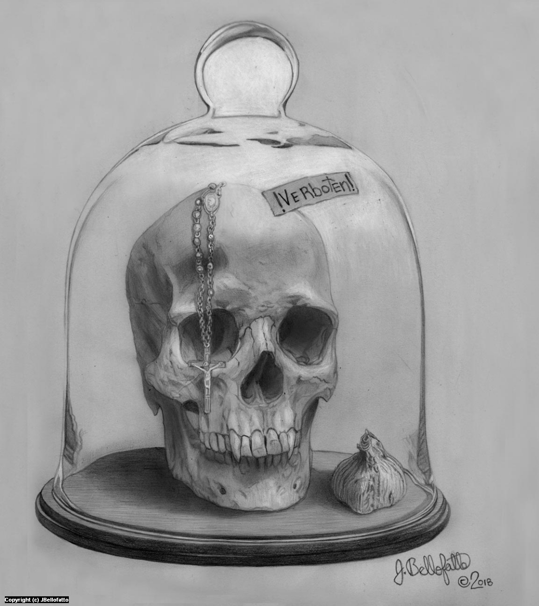 Verboten! Artwork by Joseph Bellofatto