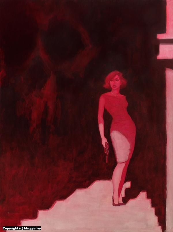 Blood Lust Artwork by Maggie Ivy