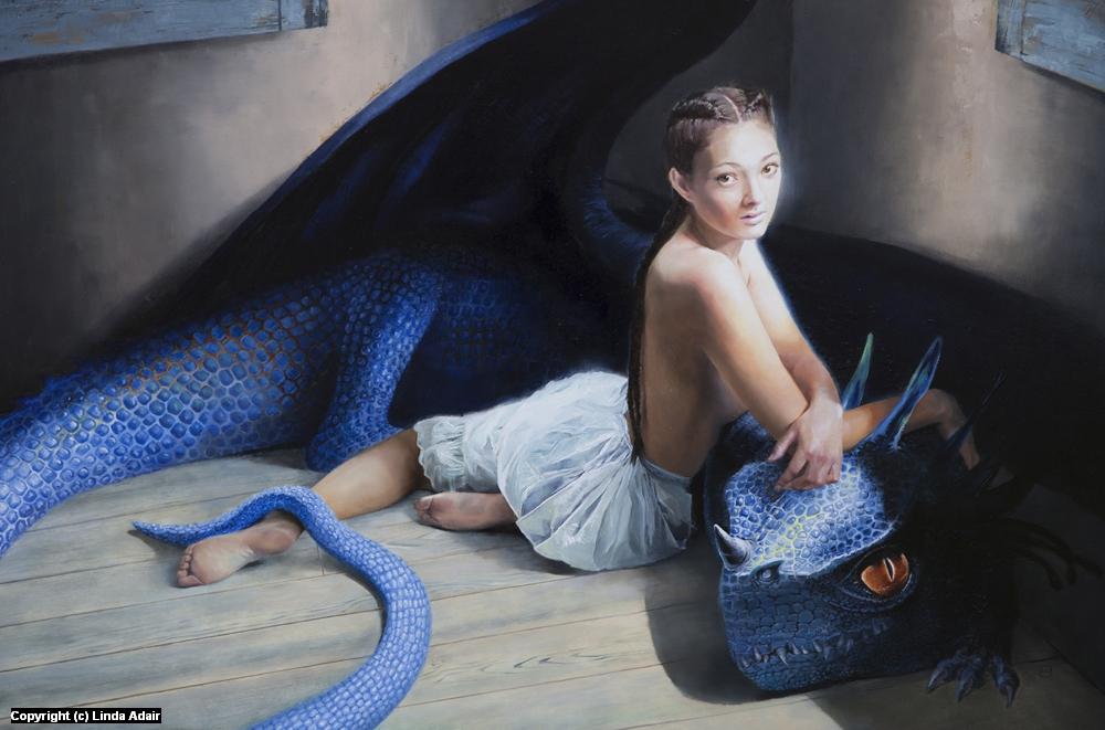Adolescence Artwork by Linda Adair