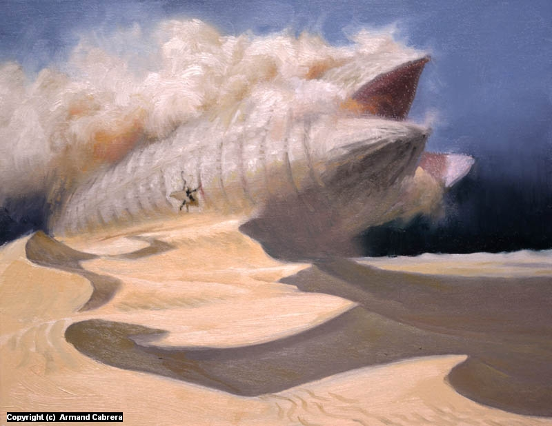 Raising Shai Hulud Artwork by Armand Cabrera