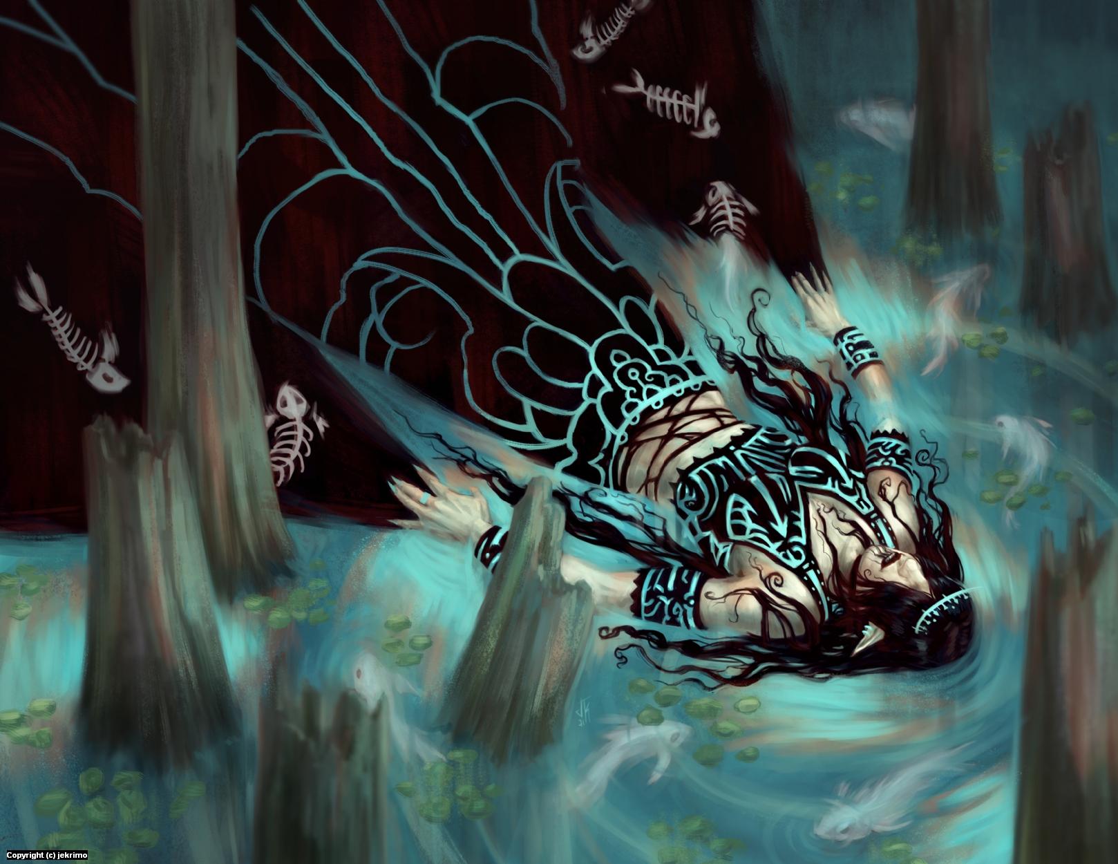 Effluent Crone Artwork by Jeff Kristian