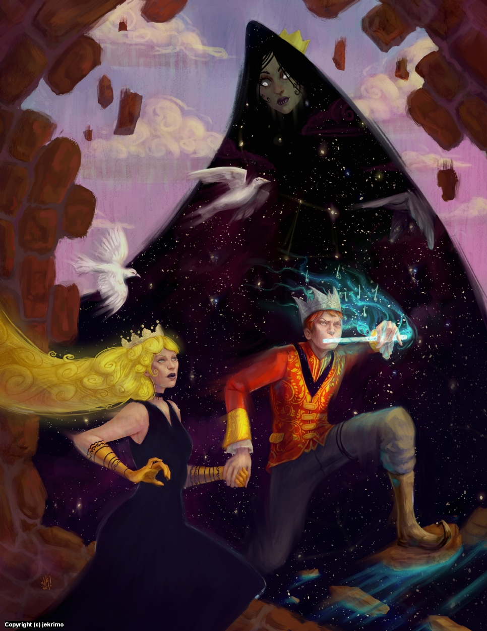 The Magic Flute Artwork by Jeff Kristian