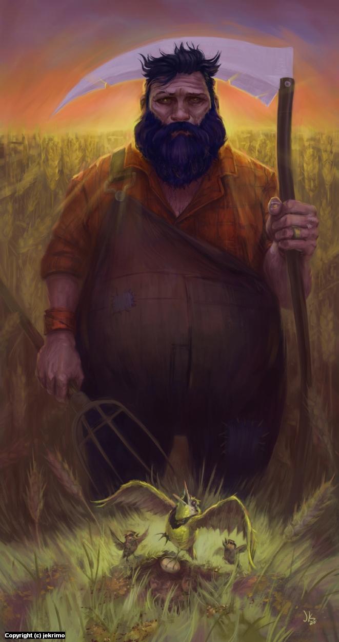 Aesop Farmer Artwork by Jeff Kristian