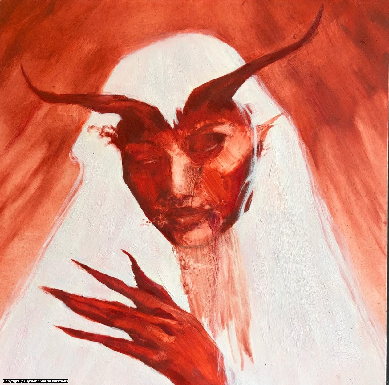 Blood Mistress Artwork by Dymond Starr Boutte'