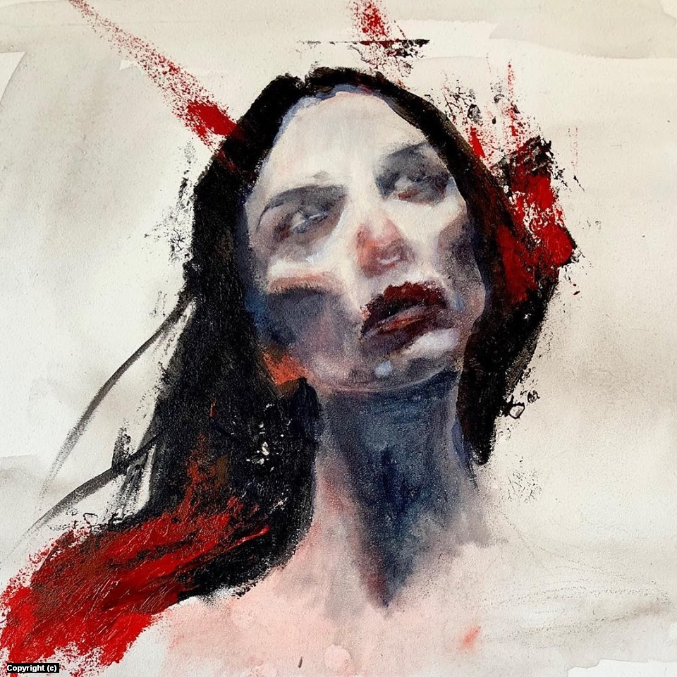 Hell Girl  Artwork by Dymond Starr Boutte'