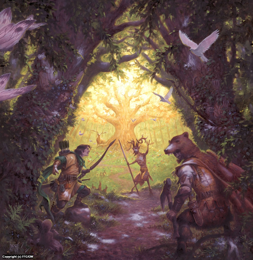 Talisman: The Woodlands Artwork by Ralph Horsley