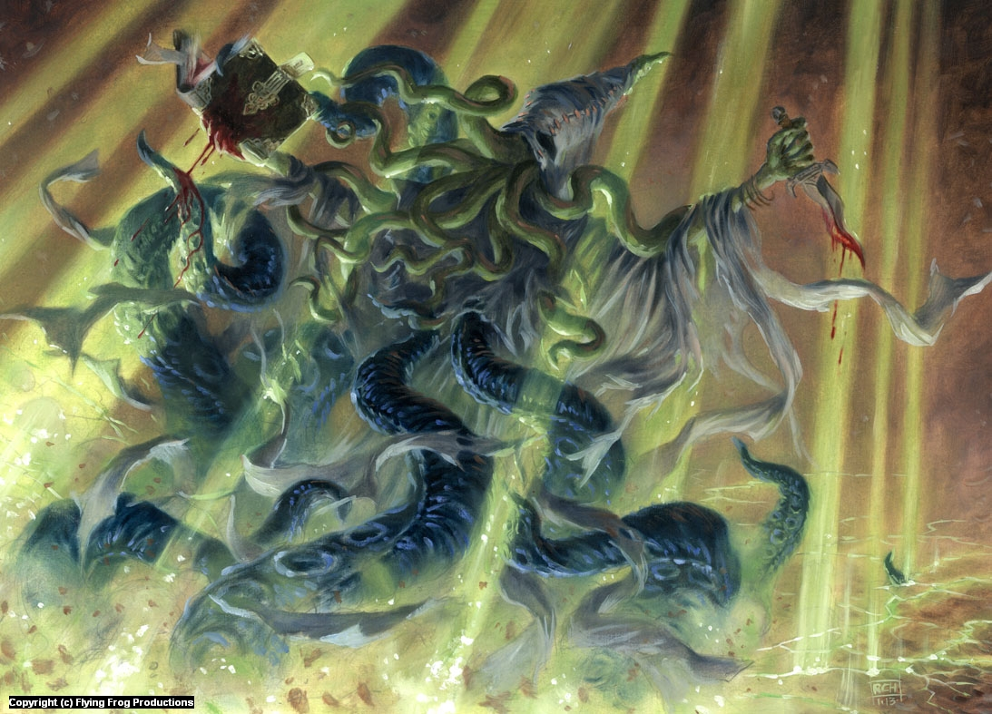 Void Sorceror Artwork by Ralph Horsley