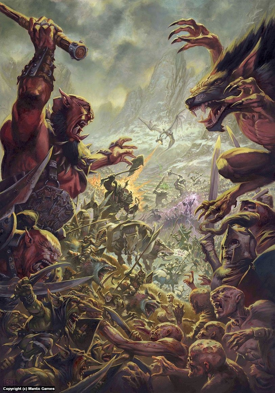 Kings of War Artwork by Ralph Horsley