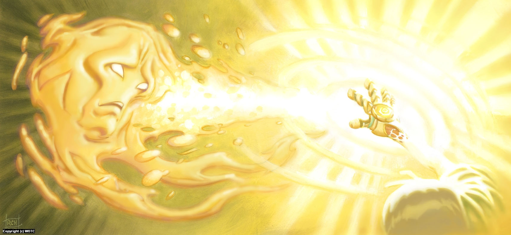 Mystic of Light - Radiant Purification Artwork by Ralph Horsley
