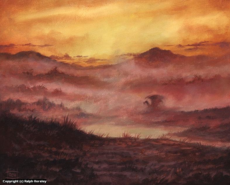 Gloaming Artwork by Ralph Horsley