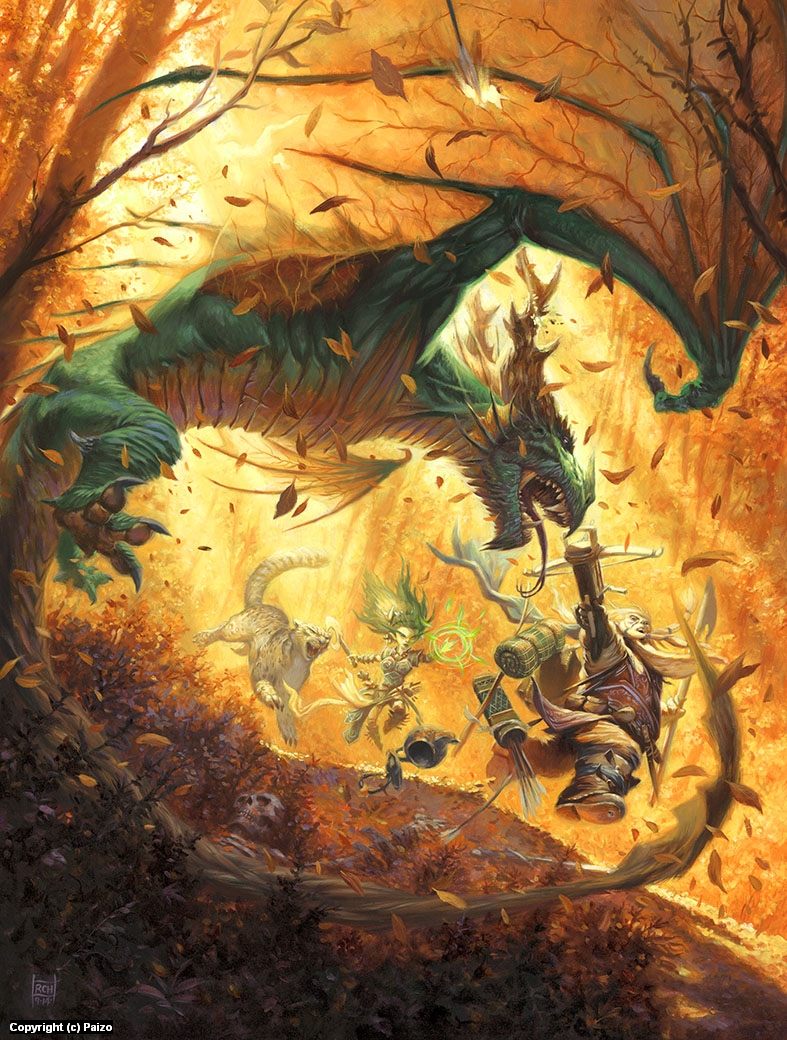 Heroes of the Wild Artwork by Ralph Horsley
