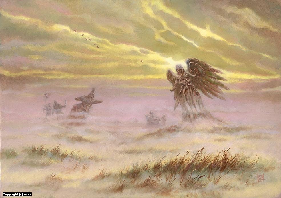 Mistveil Plains Artwork by Ralph Horsley