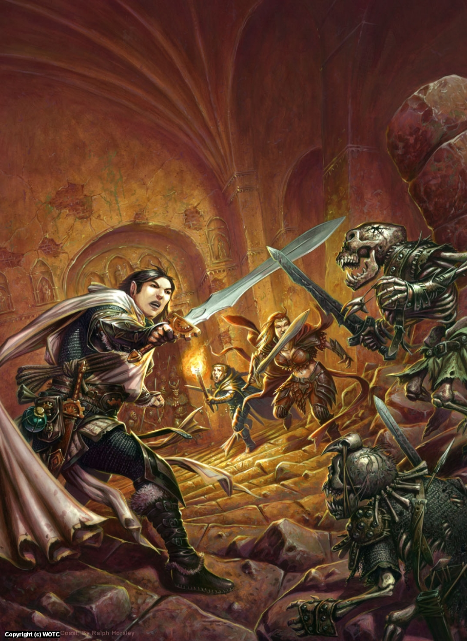 Heroes Of The Fallen lands Artwork by Ralph Horsley