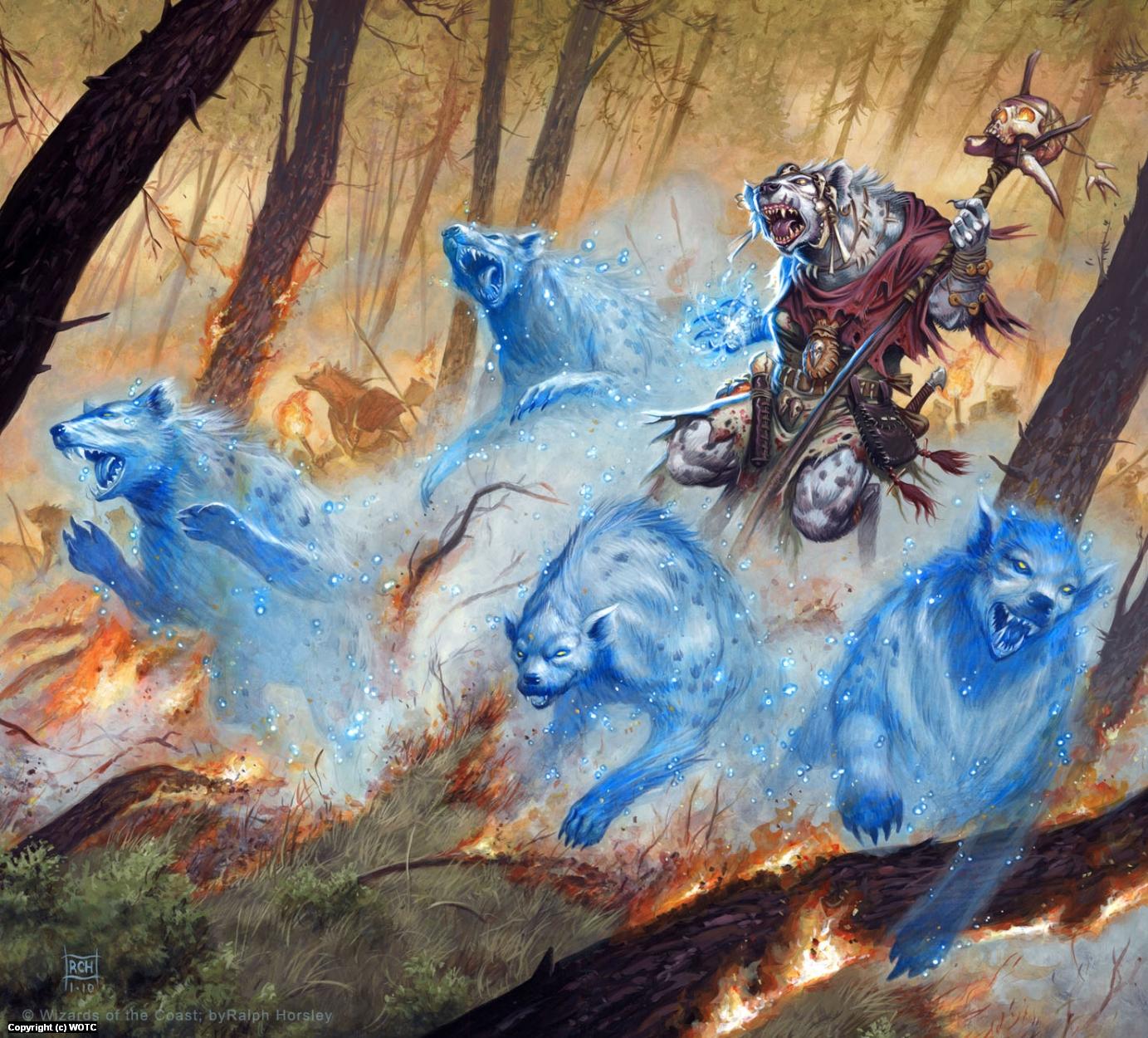Spirit Summoner Artwork by Ralph Horsley