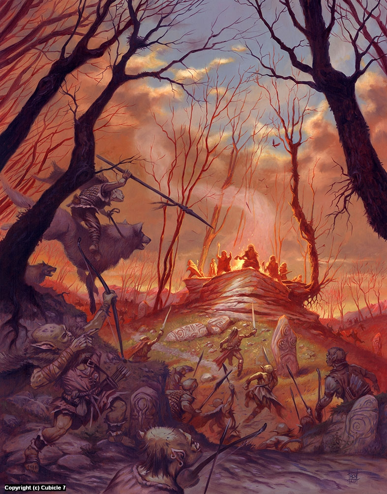 Wilderness Adventures Artwork by Ralph Horsley