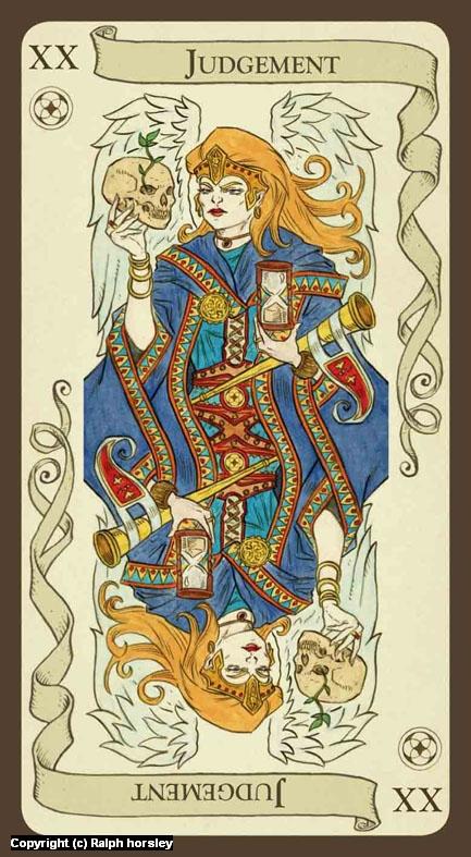 XX Judgement Artwork by Ralph Horsley