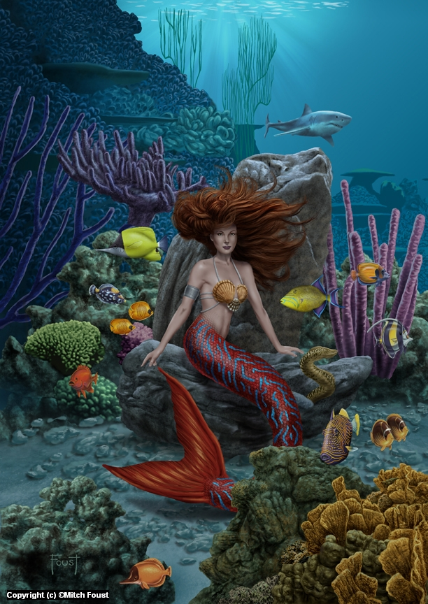 Under the Sea Artwork by Mitch Foust