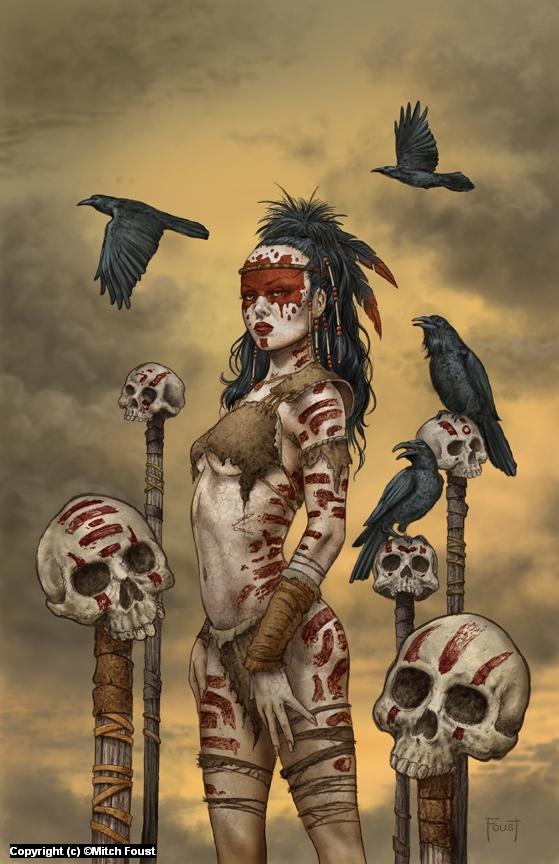 Raven Spirit Artwork by Mitch Foust