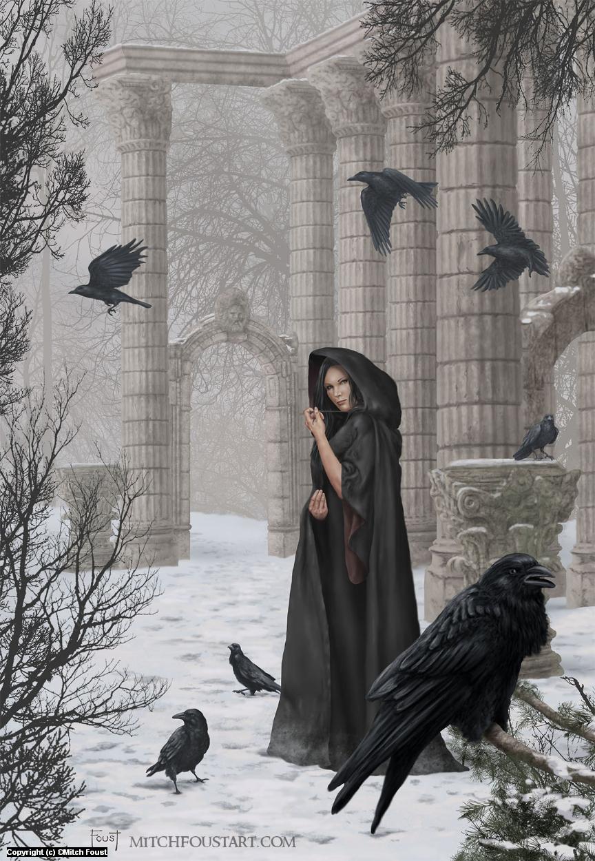 Morgan Le Faye Artwork by Mitch Foust