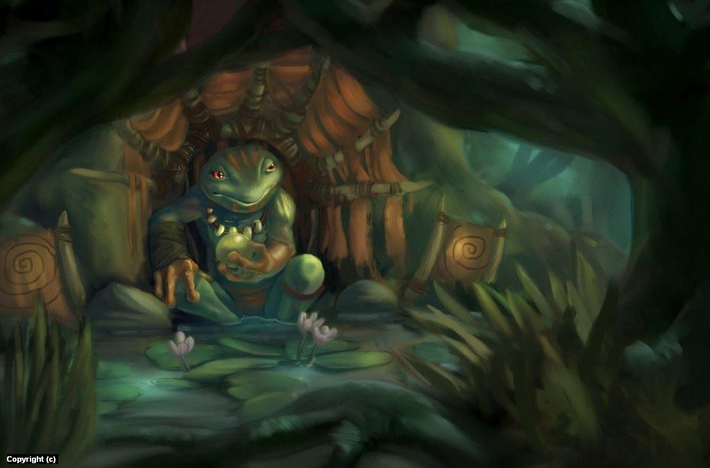 Frog Prince Artwork by owen pierce